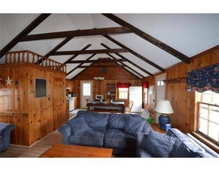 Dennis Port Cape Cod vacation rental - Gather in the family room and kitchen