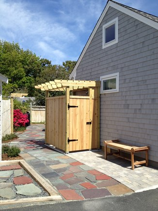 South Yarmouth Cape Cod vacation rental - Outdoor shower