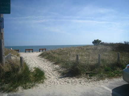 South Yarmouth Cape Cod vacation rental - Path to the beach