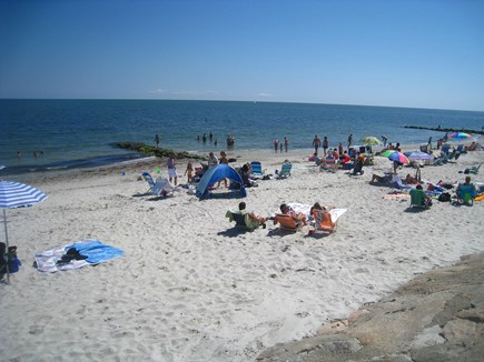 South Yarmouth Cape Cod vacation rental - Beautiful Seaview Beach on Nantucket Sound is just 75 yards away!