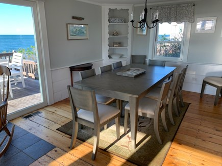 Dennis Port Cape Cod vacation rental - Dining room with a view