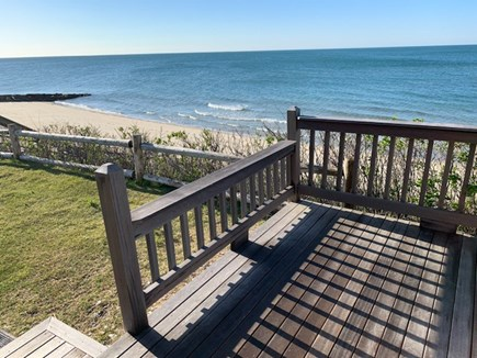 Dennis Port Cape Cod vacation rental - View from cottage deck