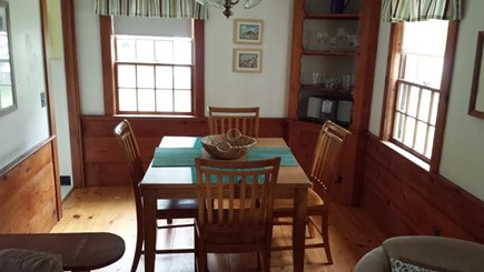 Dennisport Cape Cod vacation rental - Large dining room area