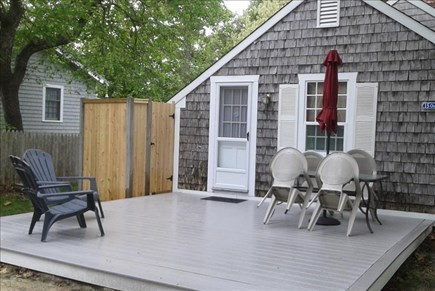 Dennis Port Cape Cod vacation rental - Deck for entertaining