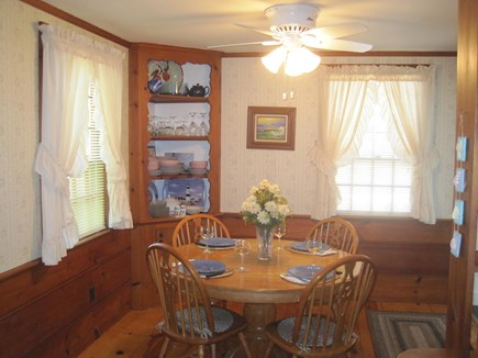 Dennis Port Cape Cod vacation rental - Separate dining room area
