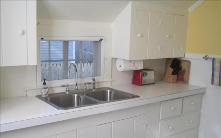 Dennis Port Cape Cod vacation rental - Fully kitchen with stove/oven and microwave