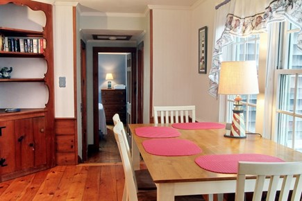Dennis Port Cape Cod vacation rental - Light and airy dining area.