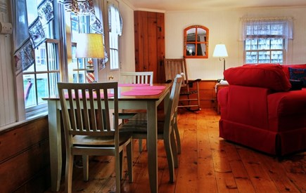 Dennis Port Cape Cod vacation rental - Open concept.  Dining room, living room, kitchen.