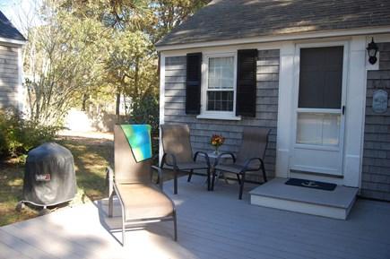 Dennisport Cape Cod vacation rental - Front deck