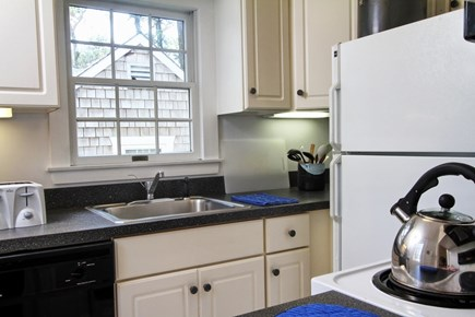 Dennis Port Cape Cod vacation rental - Equipped kitchen with microwave and dishwasher