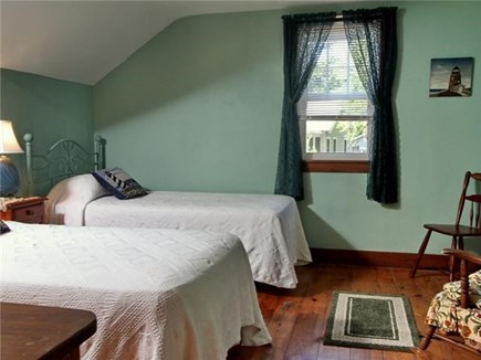 Dennisport Cape Cod vacation rental - Bedroom Two- twin beds.  Linens provided.