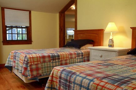 Dennis Port Cape Cod vacation rental - Bedroom with 2 twin beds. Linens provided.