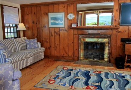 Dennis Port Cape Cod vacation rental - Comfortable living room.  Flat screen cable television.  Wi-Fi