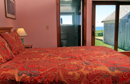 Dennis Port Cape Cod vacation rental - Bedroom with king bed. Linens provided.