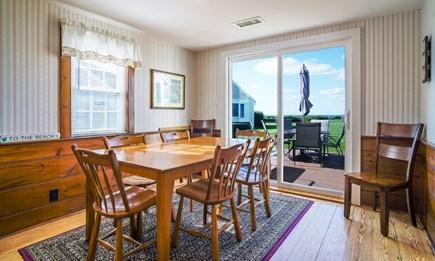 Dennis Port Cape Cod vacation rental - Dining with a view