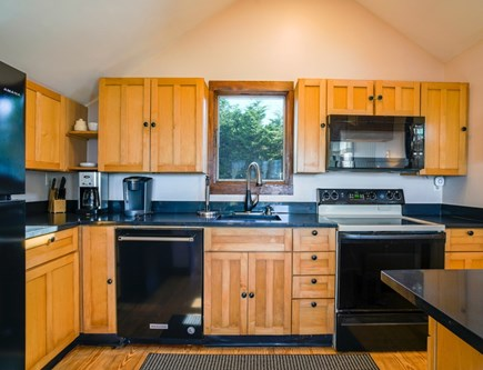 Dennis Port Cape Cod vacation rental - Open kitchen dining room area
