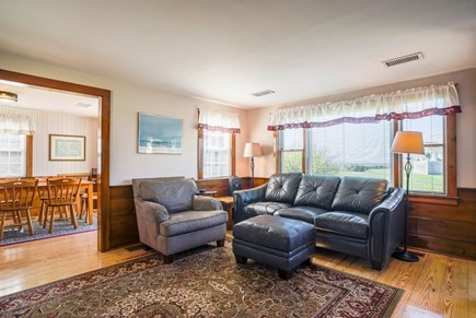 Dennis Port Cape Cod vacation rental - Spacious living room with a view