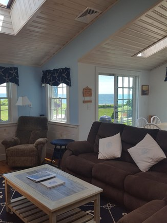 Dennis Port Cape Cod vacation rental - Open living, dining, kitchen room area