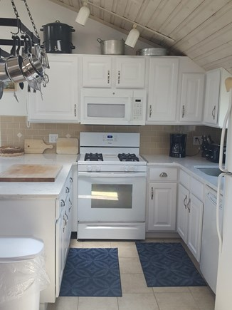Dennis Port Cape Cod vacation rental - Newly updated kitchen, dishwasher, microwave, full stove & refrig
