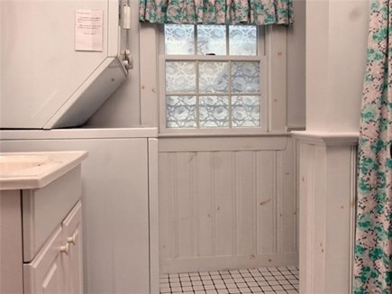 Dennis Port Cape Cod vacation rental - Washer and Dryer in cottage.