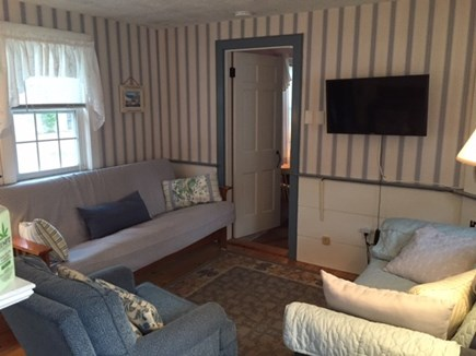 Dennis Port Cape Cod vacation rental - Living room w/cable television and WIFI.