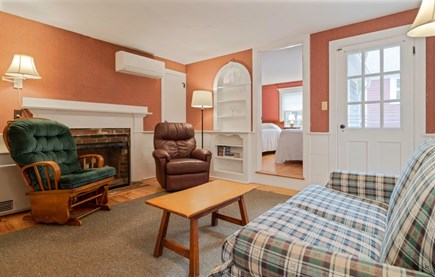 Dennis Port Cape Cod vacation rental - Living room area with cable television