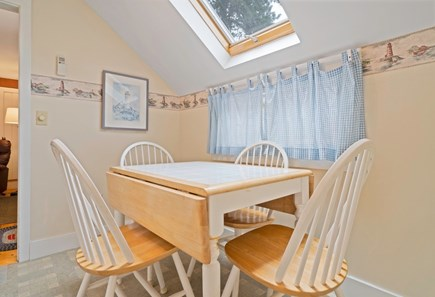 Dennis Port Cape Cod vacation rental - Bright eat in kitchen with skylight