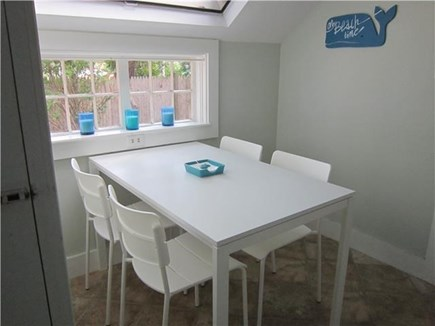Dennisport Cape Cod vacation rental - Breakfast table