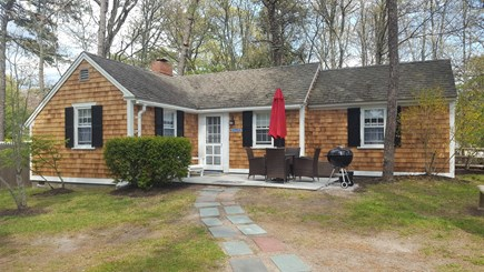 Dennis Port Cape Cod vacation rental - 18 Ocean Park East, AC, 2 bedroom, steps to private beach