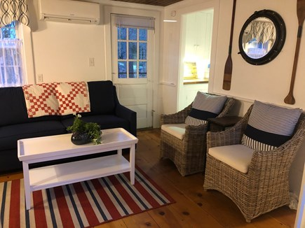 Dennis Port Cape Cod vacation rental - Updated living room with new furnishings