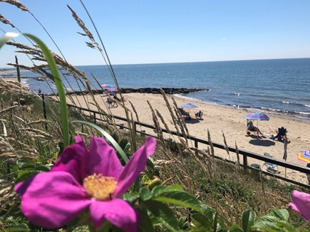 Dennis Port Cape Cod vacation rental - Dennis Seashores private sandy beach less than a minute walk