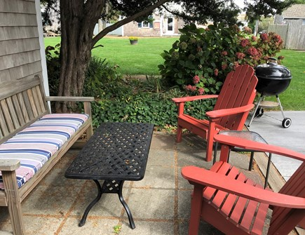 Dennis Port Cape Cod vacation rental - Plenty of outdoor seating for relaxing.  Beach chairs provided