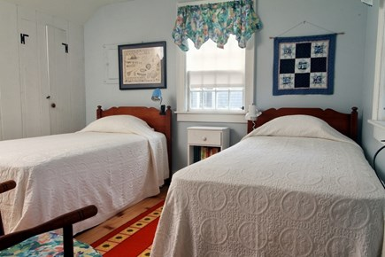 Dennis Port Cape Cod vacation rental - Bedroom with 2 twin beds, linens included