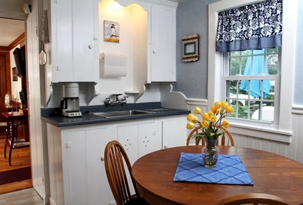 Dennis Port Cape Cod vacation rental - Eat in kitchen.  Fully equipped w/micro, full stove, pots, dishes