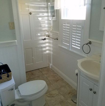 Dennis Port Cape Cod vacation rental - Full bath with shower stall.