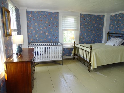Dennis Cape Cod vacation rental - Upstairs Queen bedroom with crib