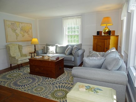 Dennis Cape Cod vacation rental - Comfortable front parlor- an ideal place to relax and chat!