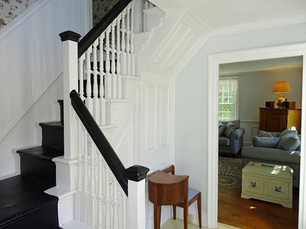 Dennis Cape Cod vacation rental - The front stairs lead you to 5 large bedrooms!