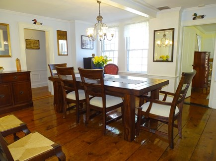 Dennis Cape Cod vacation rental - Formal dining room seats 10, with additional seating elsewhere