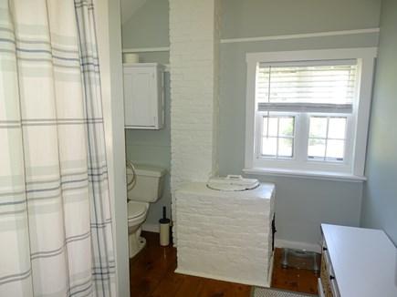 Dennis Cape Cod vacation rental - First floor full bath - old bath with modern charm