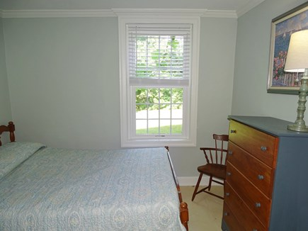 Dennis Cape Cod vacation rental - Bright full sized first floor bedroom w bathroom just outside!