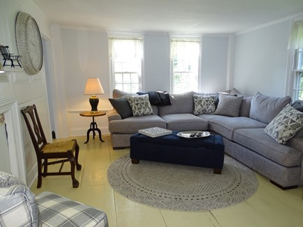 Dennis Cape Cod vacation rental - Family room – large comfortable couch