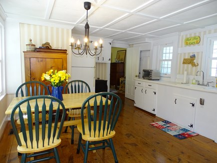 Dennis Cape Cod vacation rental - Sunny kitchen area with seating