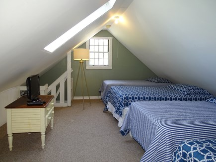 Dennis Cape Cod vacation rental - Sleeping loft for youngsters- sleeps 4!