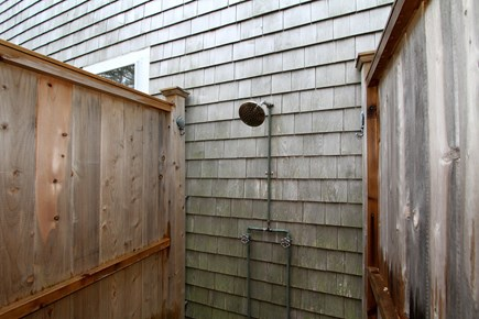 Harwich Cape Cod vacation rental - Outdoor shower; convenient and refreshing