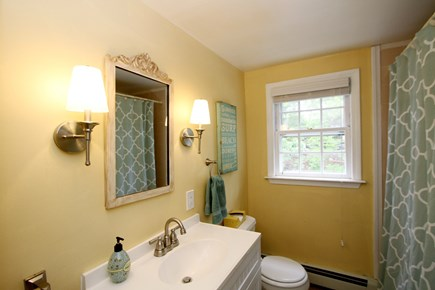 Harwich Cape Cod vacation rental - Downstairs bathroom, clean and bright