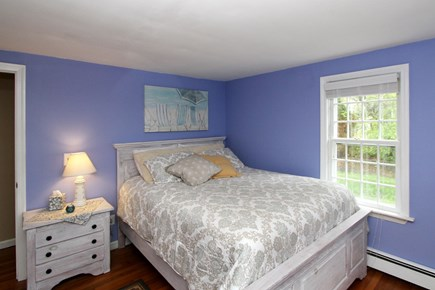 Harwich Cape Cod vacation rental - Downstairs Queen bedroom..bright and roomy