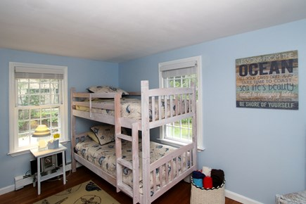 Harwich Cape Cod vacation rental - Downstairs bunk beds, a kid's delight