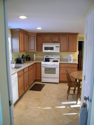 South Yarmouth Cape Cod vacation rental - KitchenFull Size Stove / OverMicrowave / Waffle Maker