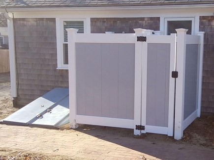 South Yarmouth Cape Cod vacation rental - New PVC Outdoor Shower - 2018